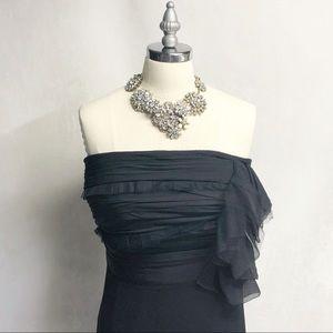NWT Ann Taylor Strapless Little Black Dress
